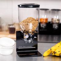 Zevro KCH-06152 Black Professional Single Canister Dry Food Dispenser