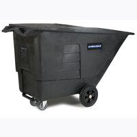 Carlisle TT110 Black 1.0 Cubic Yard Tilt Truck (1200 lbs)