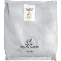 Ellis 2 lb. 100% Colombian Decaf Whole Bean Coffee - 10/Case