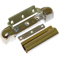 Kason 10217000008 5 3/4 inch x 1 1/8 inch Edge Mount Door Hinge with 1 1/8 inch Offset