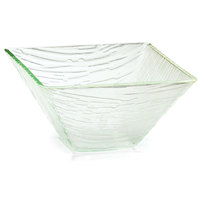 Tablecraft AB8 Cristal Collection 7 1/2 inch Clear Square Acrylic Bowl