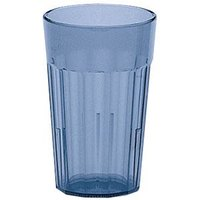 Cambro NT10401 Slate Blue Newport Customizable Plastic Tumbler 10 oz. - 36/Case