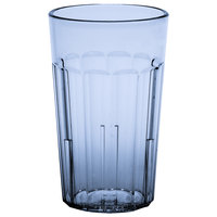 Cambro NT10401 Newport 10 oz. Slate Blue Customizable SAN Plastic Tumbler - 36/Case