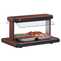 Hatco GR2BW-30 30 inch Glo-Ray Antique Copper Designer Buffet Warmer with Antique Copper Insets - 1230W