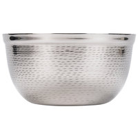Tablecraft RB9 Remington 3.25 Qt. Round Stainless Steel Double Wall Bowl - 9 1/2 inch x 5 inch