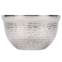 Tablecraft RB53 Remington 14 oz. Round Double Wall Stainless Steel Bowl
