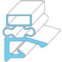 Hobart 268821-3 Equivalent Rubber Magnetic Door Gasket - 24 3/8 inch x 60 11/16 inch