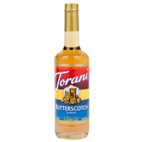 Torani 750 mL Butterscotch Flavoring Syrup