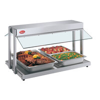Hatco GRBW-48 48 inch Glo-Ray Buffet Warmer with Thermostatic Controls - 2040W