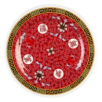 Thunder Group 1010TR Longevity 10 3/8 inch Round Melamine Plate - 12/Pack