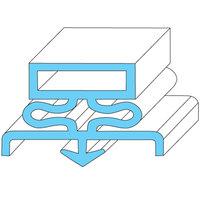Traulsen 341-39394-00 Equivalent Rubber Magnetic Door Gasket - 12 7/8 inch x 21 1/2 inch