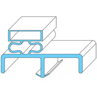 All Points 74-1063 Rubber Magnetic Door Gasket - 23 1/2 inch x 28 1/4 inch