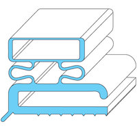 All Points 74-1111 Magnetic Door Gasket - 23 3/8 inch x 29 3/8 inch