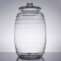 Libbey 9520003 10 Liter Barrel with Lid - 2/Case
