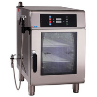 Alto-Shaam CTX4-10EC Combitherm CT Express Electric Boiler-Free 5 Pan Combi Oven with Express Controls and Catalytic Converters - 208-240V, 1 Phase