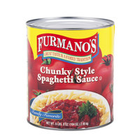 Furmano's Premium Chunky Spaghetti Sauce 6 - #10 Cans / Case