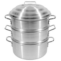 Town 34412S 12 inch 2.5 Gallon Aluminum Steamer Set