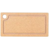 Cal-Mil 3337-612-14 Natural Wood Cutting Board - 12 inch x 6 inch x 1/2 inch