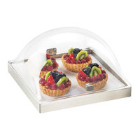 Cal Mil 3329-12-55 Stainless Steel Square Chill Pack Display - 12 inch x 13 inch x 7 1/2 inch