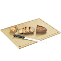 Cal-Mil 3337-1824-14 Natural Wood Cutting Board - 24 inch x 18 inch x 1/2 inch
