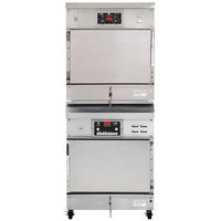 Winston Industries CAC507/HA4507 CVAP Full Height Stacked Cook and Hold Oven and Holding Cabinet - 120/208V