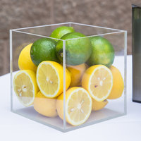 Cal-Mil CC306 Clear Display Cube - 6 inch x 6 inch