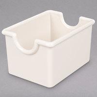 White Plastic Sugar Caddy