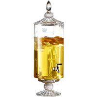 2 Gallon Westchester Optic Glass Beverage Dispenser