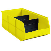Metro MB40130 Divider for MB30130Y, MB30138Y, and MB30164Y Yellow Nesting Bins - 24/Pack