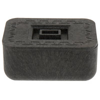 HS Inc. HS1024 Charcoal Small Multi-Purpose Container with Lid - 24/Case