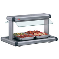 Hatco GR2BW-54 54 inch Glo-Ray Gray Granite Designer Buffet Warmer with Gray Insets and Infinite Controls - 120V, 2290W