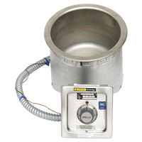 Wells SS8TUI 7 Qt. Round Insulated Drop In Soup Well - Top Mount, Thermostatic Control, 120V
