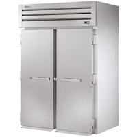 True STR2RRI-2S Specification Series Two Section Roll In Refrigerator with Solid Doors - 75 Cu. Ft.