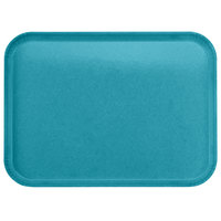 Carlisle 1814FG006 Customizable14 inch x 18 inch Glasteel Ultramarine Fiberglass Tray - 12/Case