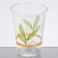 Bare by Solo RTP9DBAREW Eco-Forward 9 oz. Individually-Wrapped RPET Tall Cold Cup - 500/Case