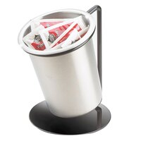 Cal Mil 1226-39-SOLID Iron Cylinder Display with Solid Cylinder - 6 inch x 6 inch x 6 inch