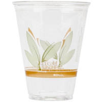 Dart Solo RTP9DBARE Bare Eco-Forward 9 oz. RPET Tall Cold Cup - 1000/Case