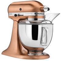 KitchenAid KSM152PSCP Satin Copper Custom Metallic Series 5 Qt. Countertop Mixer