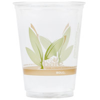 Dart Solo RTP10DBARE Bare Eco-Forward 10 oz. RPET Tall Cold Cup - 1000/Case