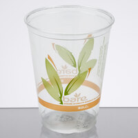 Bare by Solo RTP10DBAREW Eco-Forward 10 oz. Individually-Wrapped RPET Tall Cold Cup - 500/Case