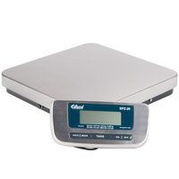 Edlund EPZ-20H 20 lb. Stainless Steel Digital Pizza Scale with Foot Tare