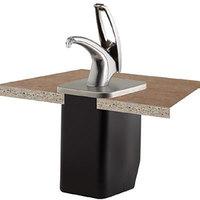 San Jamar P4100 FrontLine Universal In Counter Condiment Dispenser System - Metal Finish