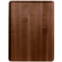 Burma Teak Cambro 1216D308 12 inch x 16 inch Wood-Look Dietary Tray 12 / Case