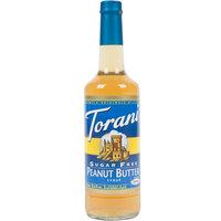 Torani 750 mL Sugar Free Peanut Butter Flavoring Syrup