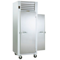 Traulsen G10013P Solid Door 1 Section Pass-Through Refrigerator - Right / Left Hinged Doors