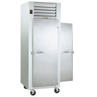 Traulsen G10013P Solid Door 1 Section Pass-Through Refrigerator - Right / Left Hinged Doors