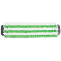 Unger MD400 SmartColor MicroMop 7.0 16 inch Green Wet / Dry Mop Pad