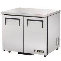 True TUC-36-ADA 36 inch Undercounter Refrigerator - ADA Height