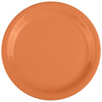 GET NP-7-PK Pumpkin Diamond Harvest 7 1/4 inch Rolled Edge Plate - 48/Case