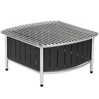 Vollrath 4667475 Black Small Buffet Station with Wire Grill